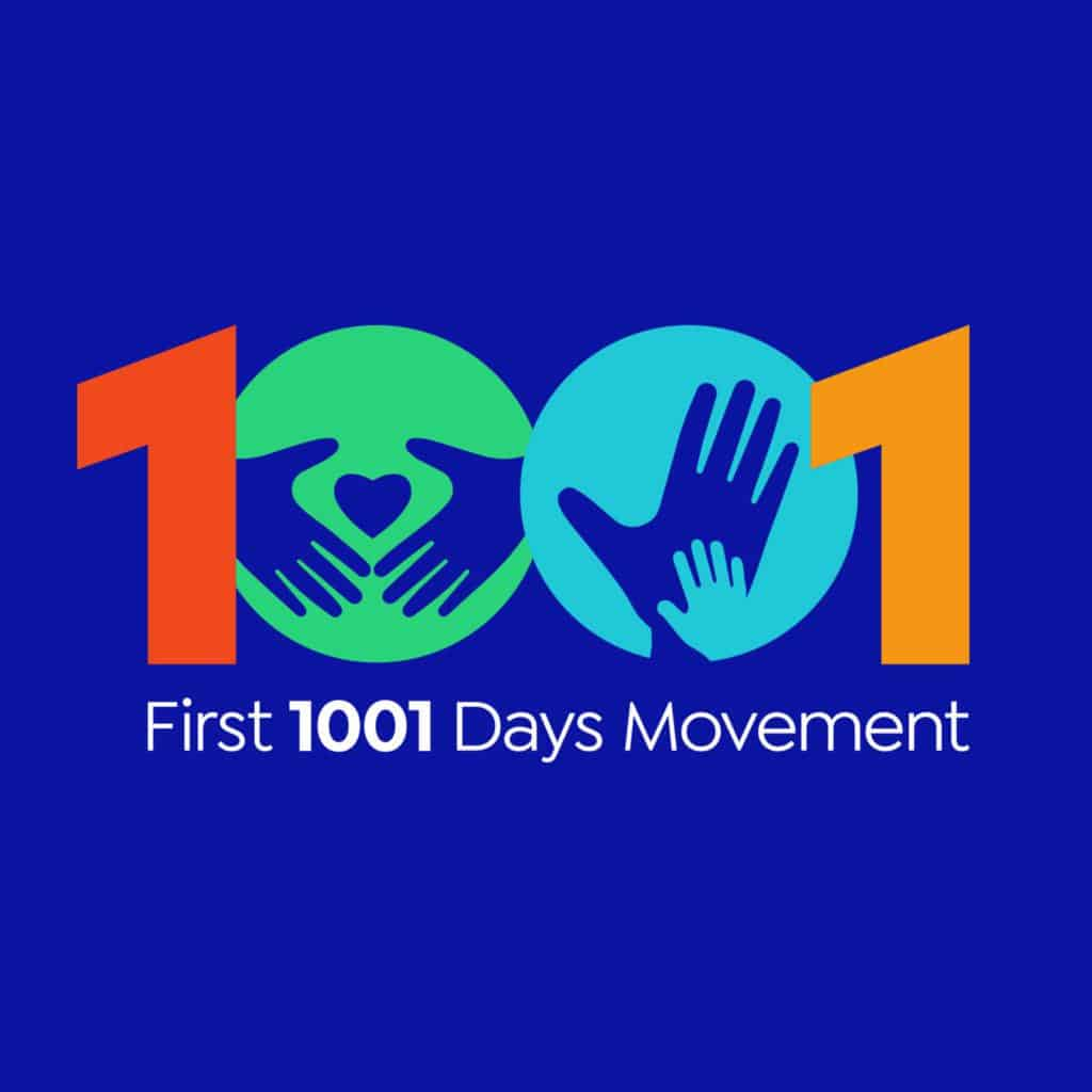 First 1001 Days Movement Logo - Social
